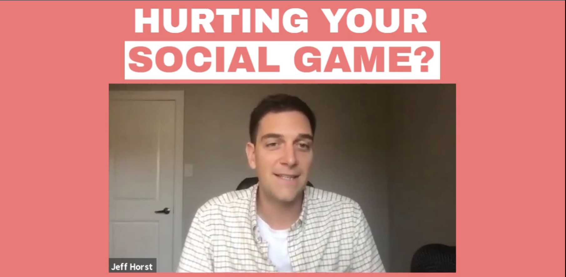 Hurting Your Social Game